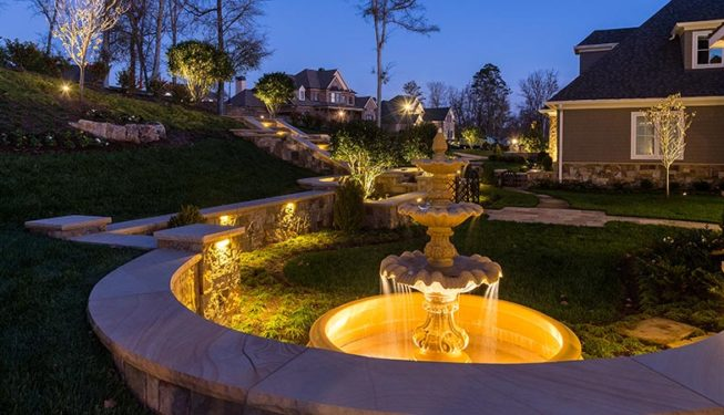 Knoxville Landscape Lighting