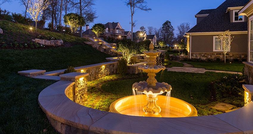 Knoxville Landscape Lighting